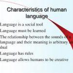 10 Characteristics of Human Language