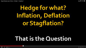Short Notes on stagflation, Reflation and Disinflation