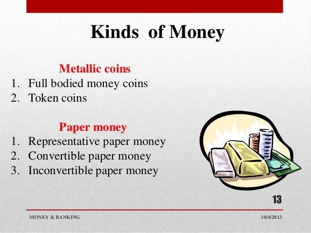 What Are 10 Different Types Of Money
