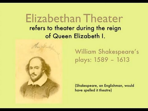 Five Facts About Elizabethan Theater