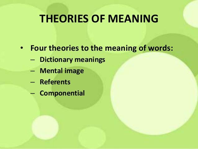 Love to study universal Theories in Semantic