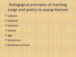 Facts About Pedagogical Principles Of Teaching