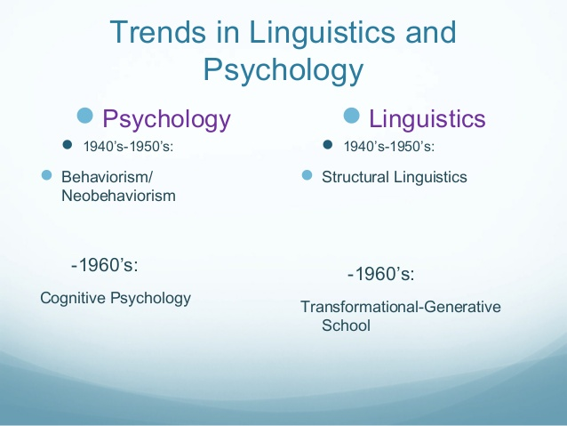 5 Facts about Psychology and linguistics