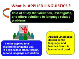 Facts About What is Applied Linguistics