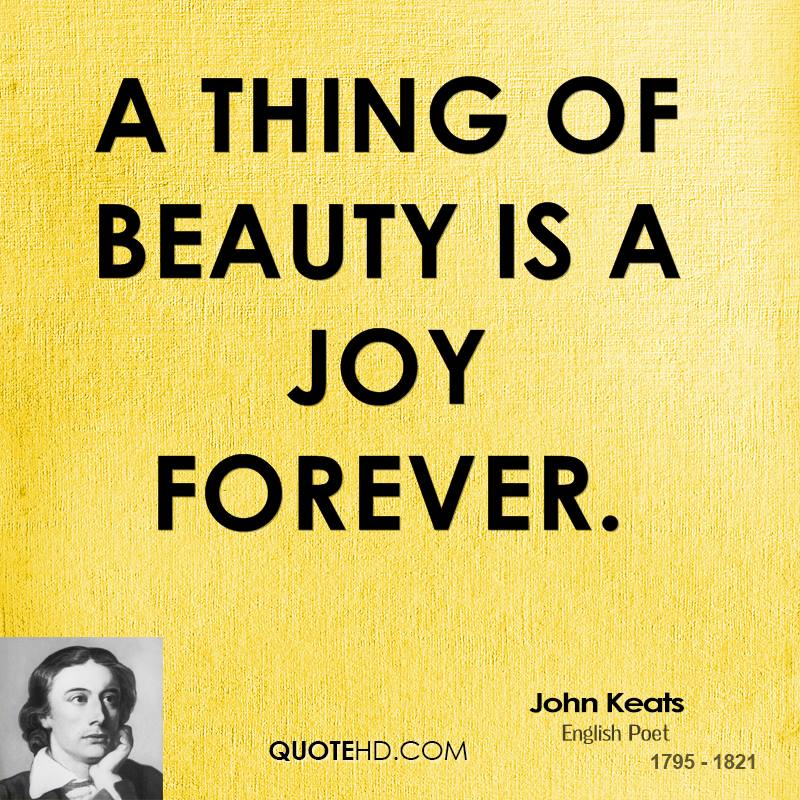 Great Explanation About A Thing of Beauty Summary By John Keats