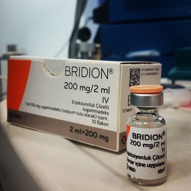 What Is Bridion (sugammadex );Side Effects,Precautions And Contraindications