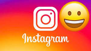 How to insert emoticons on Instagram