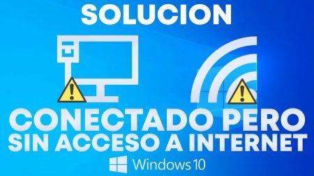 Fix; ethernet connected but no internet windows 10