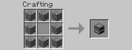 How to make a smooth stone Smooth stone is a great looking decorative piece and can also be used to make certain items.  Step 1: make an oven First things first, we are going to need an oven to create the smooth stone we want. This takes eight pavers, and can be arranged on a crafting table like the one below!