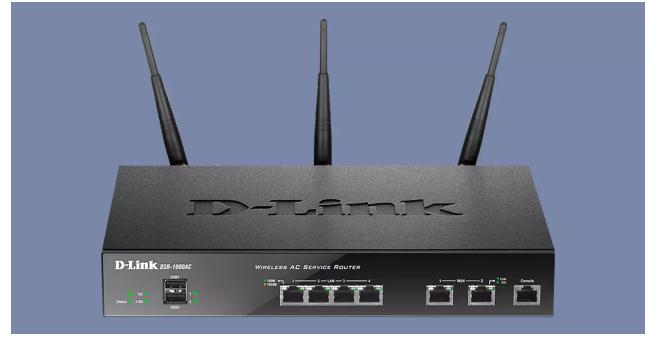 D-Link DSR-1000AC professional router